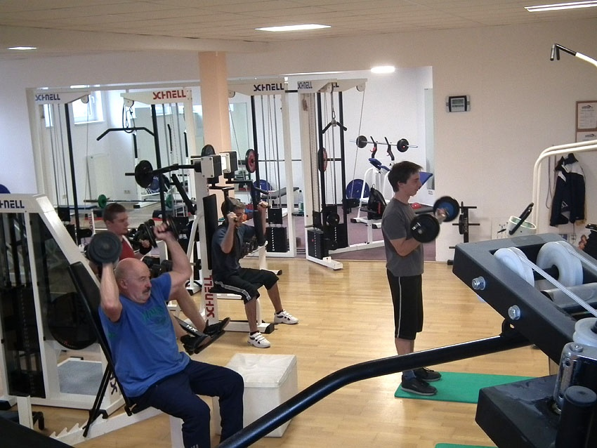 Fitnessstudio geräte  Sportcenter am Fichtelberg - Fitness